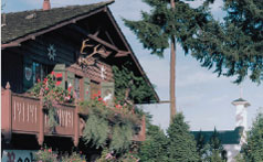 The Boehms Chalet image links to Boehm's Candies history page
