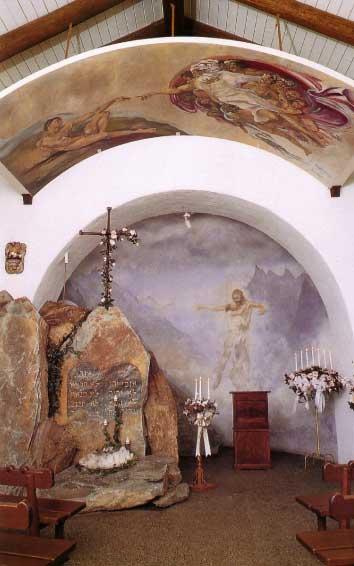 High Alpine Chapel interior